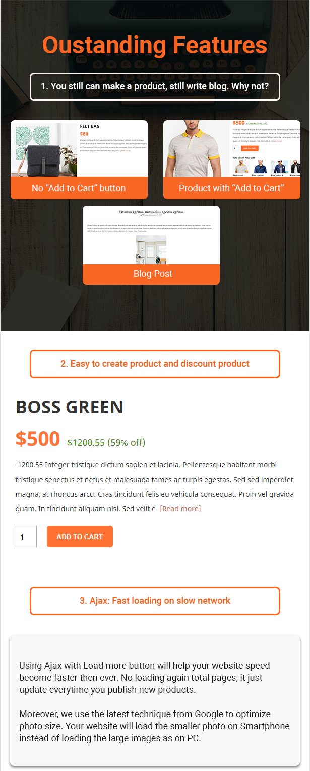R-shop - Ecommerce Responsive Blogger Template. - 3