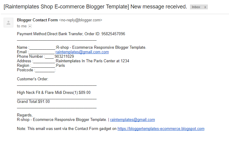 R-shop - Ecommerce Responsive Blogger Template. - 10
