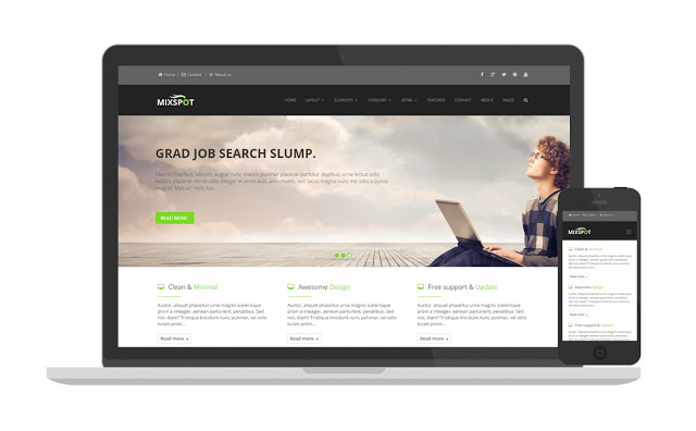 Mixspot responsive blogger template for business blogger mixspot responsive blogger template for business blogger templates accmission