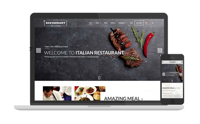 restaurant blogger template professional e commerce blogger template 2018